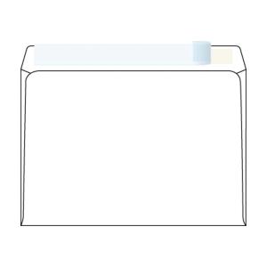Obálky samolepicí s krycí páskou C5 (162 x 229mm), okno vpravo nahoře, 50 ks/bal