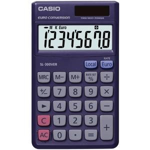Casio SL-300VER, kapesní kalkulačka, 8-místná