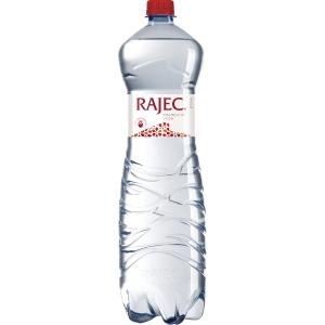 Pramenitá voda Rajec sycená 1,5 l, 6 kusů