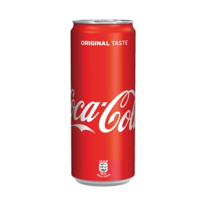 Coca-Cola plechovka 0,33 l, balení 24 ks