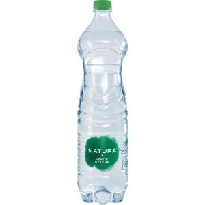 Pramenitá voda Bonaqua jemně sycená 1,5 l, 6 kusů