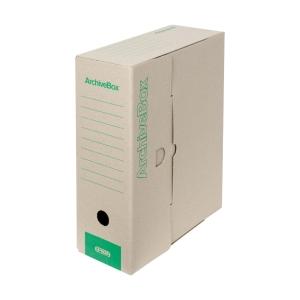 Archivační přenosné krabice Emba přírodní - 11 cm, 25 kusů