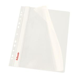 Závěsný prezentační rychlovazač Esselte - bílý, A4