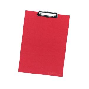 Podložka Herlitz A4, červená s držákem