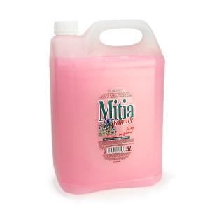 Mitia tekuté mýdlo, jarní květy, 5 l