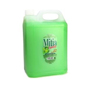 Tekuté mýdlo Mitia 5 l zelené jablko