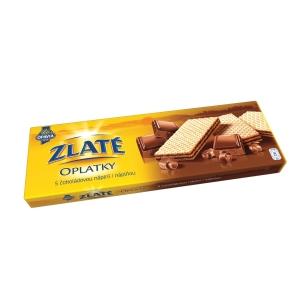 Oplatky Opavia - Zlaté čokoládové, 146 g