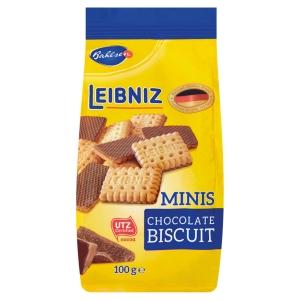 Polomáčené sušenky Minis Choco 100 g