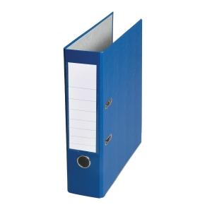 Pákový pořadač, šířka hřbetu  8 cm, modrý