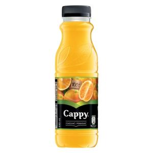 Cappy 100% pomeranč 0,33 l, 12 kusů/balení