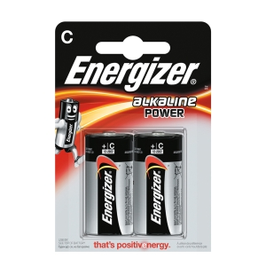 Baterie Energizer, LR14/C, dlouhotrvající výkon, 2 kusy