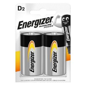 Baterie Energizer, LR20/D, dlouhotrvající výkon, 2 kusy