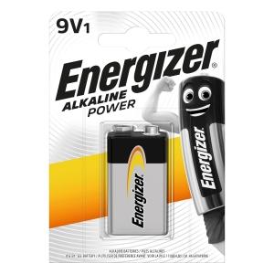 Baterie Energizer, LR61/9V, dlouhotrvající výkon, 1kus
