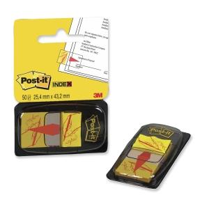 3M Post-it® 680 Záložky na označení místa na podpis 25x44 mm, bal. 50 lístků