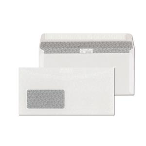 Obálky samolepicí s krycí páskou C6/5 (114 x 229 mm), okno vlevo, 1000 ks/balení