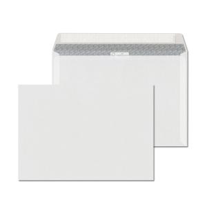 Obálky samolepicí s krycí páskou bílé C5 (162 x 229 mm), 500 kusů/balení
