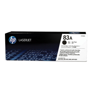 HP laserový toner 83A (CF283A), černý