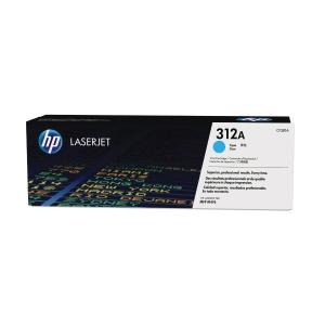 HP laserový toner 312A (CF381A), cyan