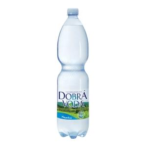 Dobrá voda nesycená 1,5 l, balení 6 ks