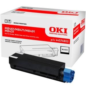 OKI laserový toner 44574802, černý