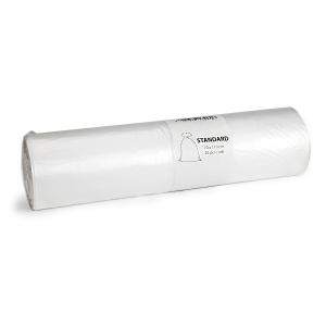 Odpadkové pytle v roli, 23 mikronů, 120 l, průhledné, 25 kusů/balení