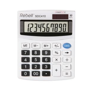 Rebell SDC410 stolní kalkulačka 10místná