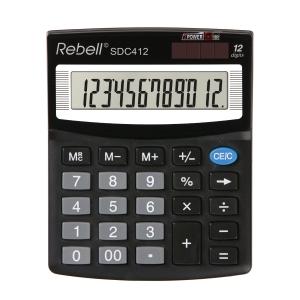 Rebell SDC412 stolní kalkulačka 12místná