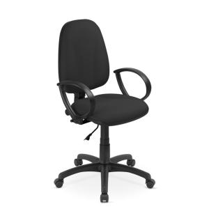 Kancelářská židle Flox, permanent, černá