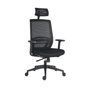 Kancelářská židle Antares Above Mesh, synchro, černá