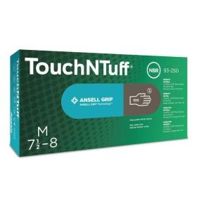 Ansell rukavice nitrilové TOUCHNTUFF® 93-250, šedá, velikost 8,5-9