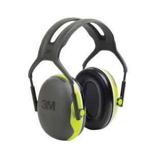 PELTOR™ X4 3M™ mušlové chrániče sluchu, fluorescenční žluto-zelené