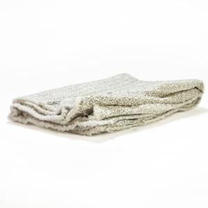 Tkaný vaflový hadr na podlahu 50 x 60 cm, bílý