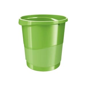 Odpadkový koš Esselte VIVIDA, 14 l, zelený