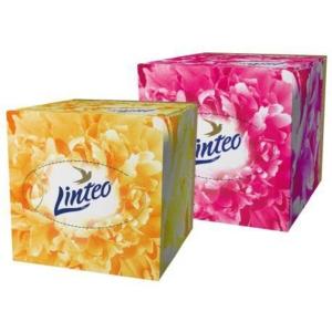 Linteo Elite hygienické kapesníky jemné, 3vrstvé, v krabičce