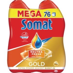 Somat Mega Gold gel do myčky nádobí 2 x 684 ml