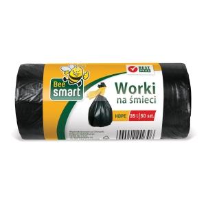 Paclan pytle na odpad 35 l černé nezatahovací, 50 kusů v rolce