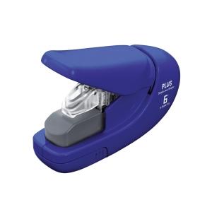 Sešívačka bez použití drátků PLUS 206, modrá