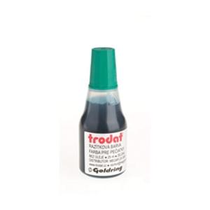 Razítková barva Trodat 7010 zelená, 25 ml