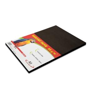 Barevný papír A3 - černý