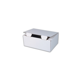 Poštovní krabice 302 x 207 x 110 bílá, balenie 50 ks