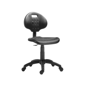 Dílenská židle 1290 PU NOR, černá
