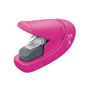 Sešívačka bez použití drátků PLUS 206, růžová