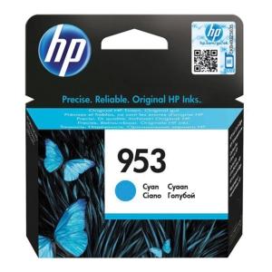 HP inkoustová kazeta 953 (F6U12AE), cyan