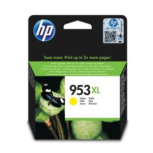 HP inkoustová kazeta 953XL (F6U18AE), žlutá