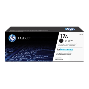 HP laserový toner 17A (CF217A), černý
