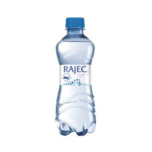 Pramenitá voda Rajec nesycená 0,33 l, 12 ks