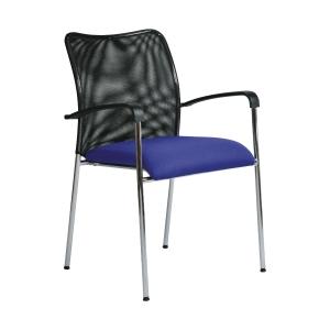 Konferenčná židle Antares Spider D4, modrá