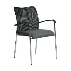 Konferenčná židle Antares Spider D5, šedá