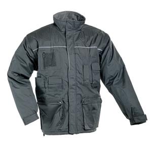 LIBRA Zimní bunda XL šedá