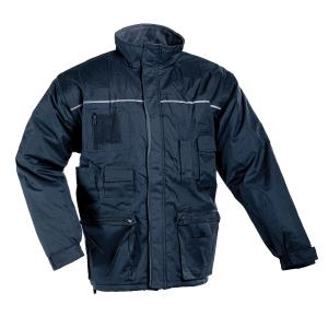 LIBRA Zimní bunda L tmavě modrá